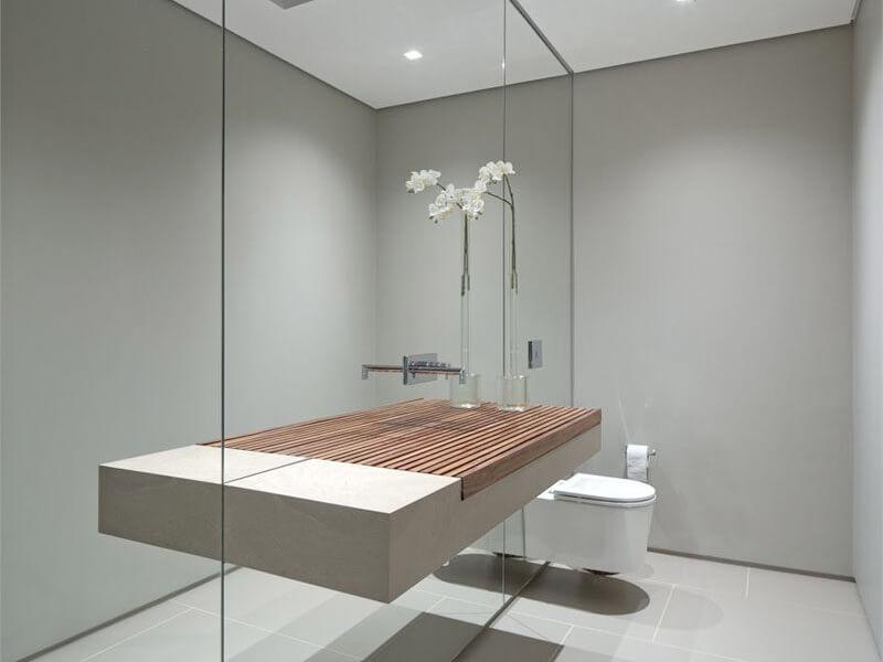 Dicas para a instalação de espelhos em paredes